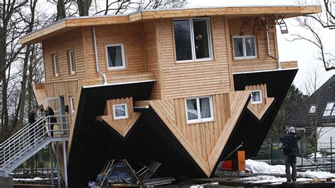 the amazing house in germany that is upside down upside down house a crazy experience
