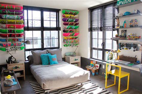 skateboard bedroom teen room ideas