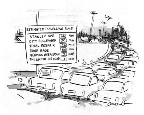 How To Draw A Traffic Jam
