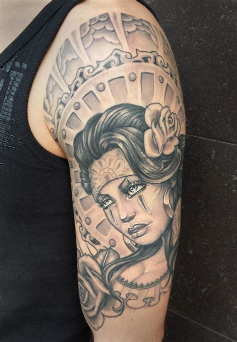 chicana chola tattoos pictures to pin on pinterest