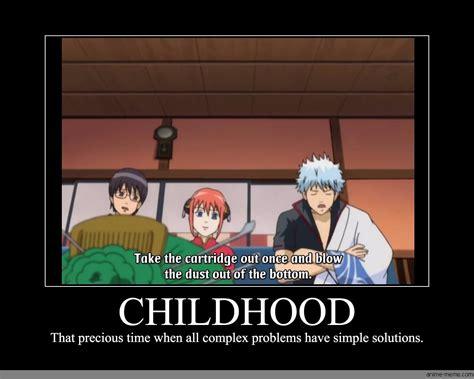 Childhood Meme - childhood anime meme com