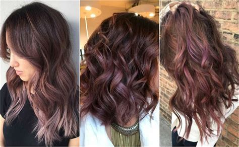 mauve hair color chocolate mauve in daylight chocolate mauve hair color