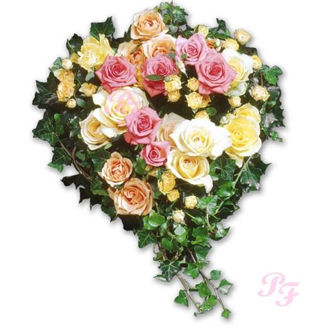 coussin de fleurs deuil les fleurs deuil coussin de roses coeur de roses