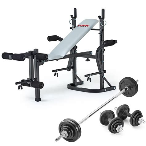 folding weight bench with weight set v fit folding weight bench and viavito 50kg cast iron