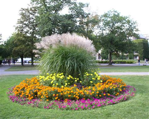 flower beds ideas bloombety annual flower bed designs with circles shape