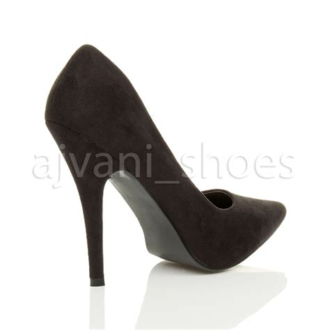 High Heel Pointed Pumps mens womens high heel pointed stiletto court shoes