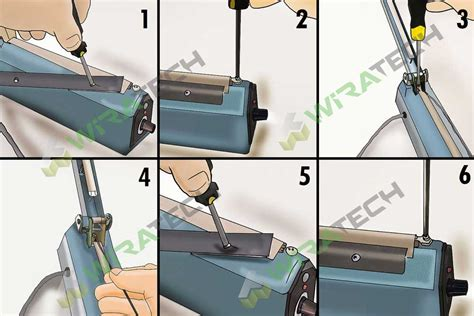 Alat Press Plastik Rusak cara memperbaiki mesin sealer sendiri mudah