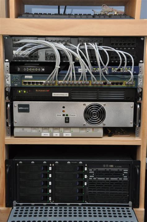 Networking Rack by Wooden Network Rack Woodplansfree