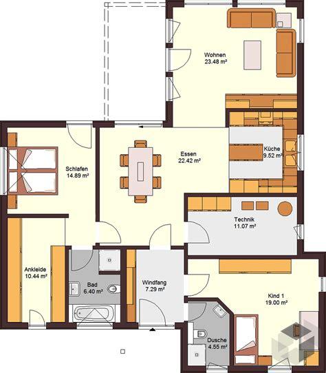 fertighaus 5 schlafzimmer bungalow 129 mit flachdach inactive zimmermann haus