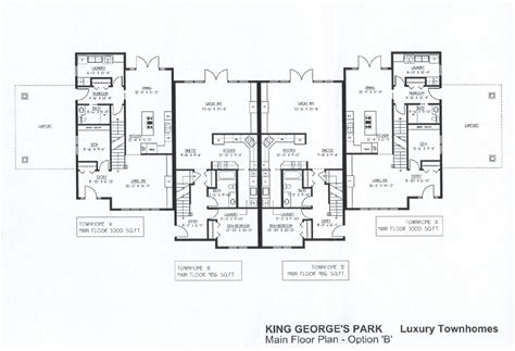 luxury townhomes floor plans king george s park luxury townhomes