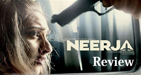 biography of movie neerja neerja movie review rating live audience updates sonam
