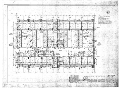 world trade center floor plan world trade center floor plans