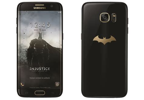 Samsung S7 Limited Edition Samsung Launches Limited Edition Batman Themed Galaxy S7 Edge