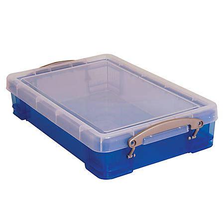 10 X 4 X 4 Box - really useful box plastic storage box 4 liters 14 12 x 10