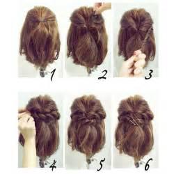 coiffure sur cheveux court facile a coupe de cheveux