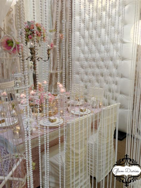 Wedding Decoration Curtains Pearl Wedding Decorations Decoration