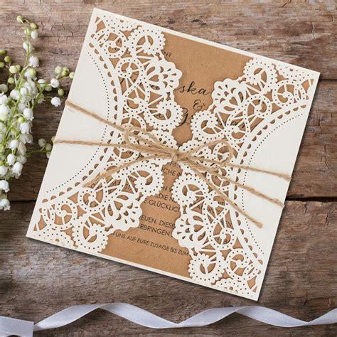Hochzeitseinladung Zum Rausziehen by Einladungskarte Hochzeit Vintagezauber