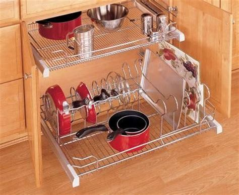 Rev A Shelf Pots And Pans Organizer by Rev A Shelf 5389 33cr Pull Out Cookware