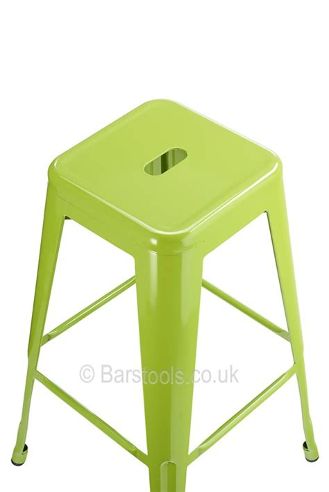 Stools Green by Tolix Style Bar Stool Green