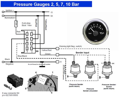 vdo gauges wiring diagrams vdo pressure diagram style by modernstork