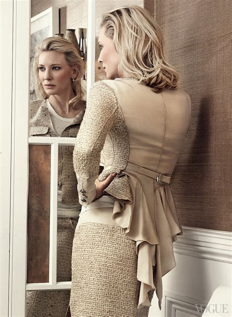 Catwalk To Photo Shoot For Vogue Us by The Set The Shoot Cate Blanchett For Vogue Us Sukio