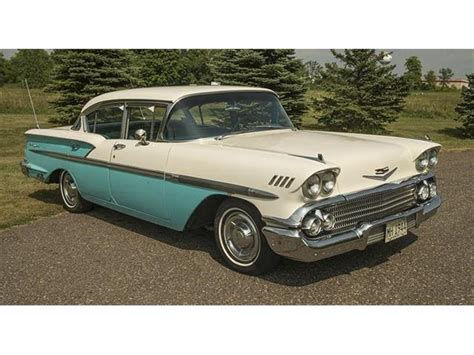 1958 chevrolet bel air 1958 chevrolet bel air for sale on classiccars 11