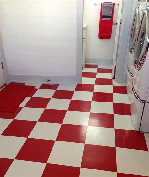 retro flooring elizabeth s red and white kitchen and cath kidston cowboy