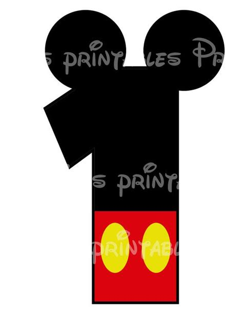 printable iron on numbers mickey mouse age birthday number diy iron on printable