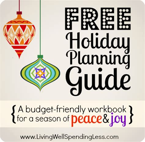 free holiday planning guide how to plan a stress free
