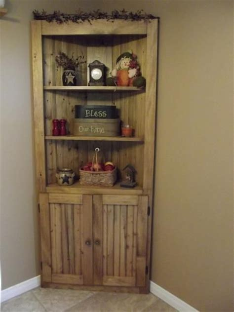 pin by ana white on kitchen tutorials pinterest make a corner useful rustic country wood pine corner