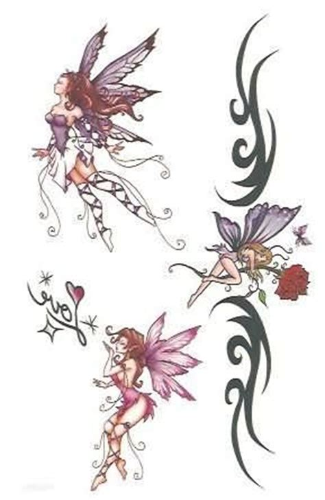 sitting fairy tattoo designs hadas vuelo tatuajes muestras inspirations