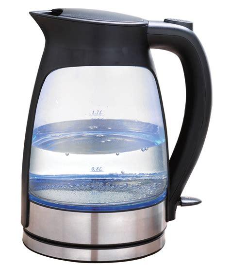 Think Kitchen Glass Kettle Glip Black Electric Glass Kettle Appliances Small