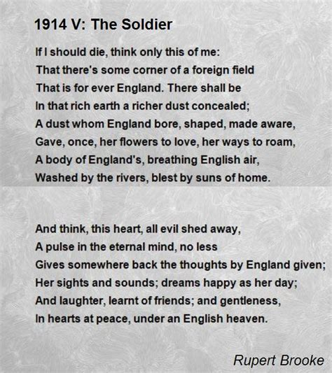 like soldiers testo e traduzione 1914 v the soldier poem by rupert poem