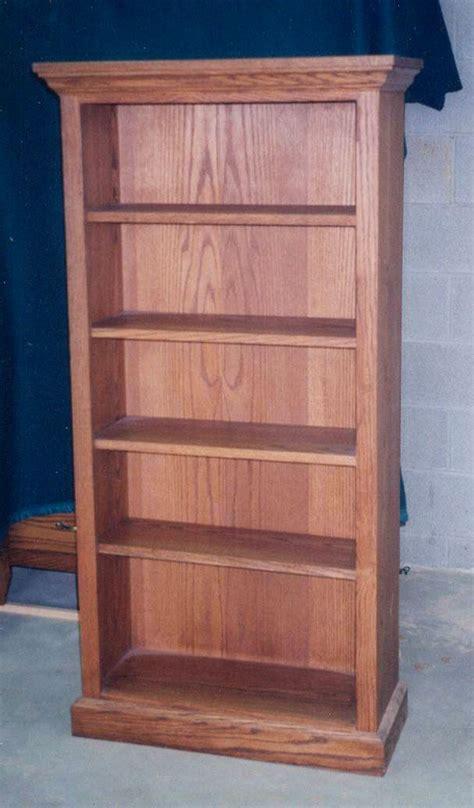 traditional bookshelf build solid oak bookcase bookcase