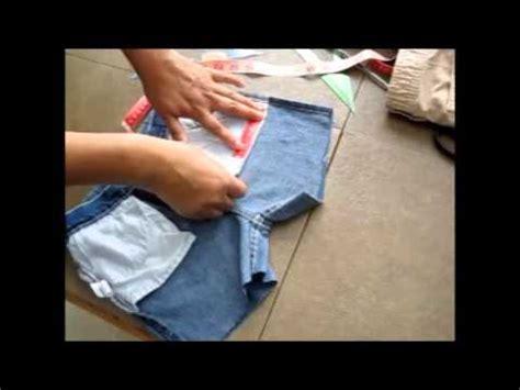 tutorial bolsillo ribeteado youtube tutorial como transformar un pantal 243 n normal a short con