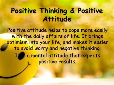 Brings Bad Attitude To Rehab by Positive Thinking