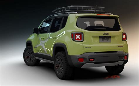 jeep renegade concept mopar preps a pair of jeep renegade concepts for naias