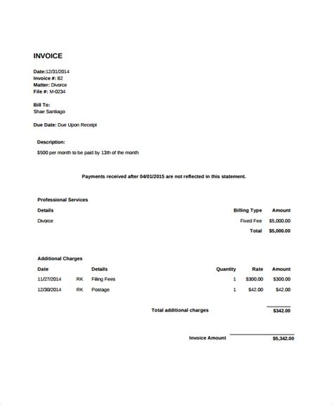legal invoice template generic receipt template bespoke