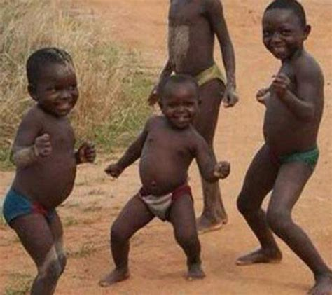 African Child Meme - funny african children dancing quickmeme
