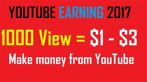 make money with youtube how i made an extra 1 187 66 how to make money on youtube 2017 update business daily 24