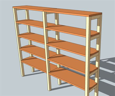 diy shelving unit 7