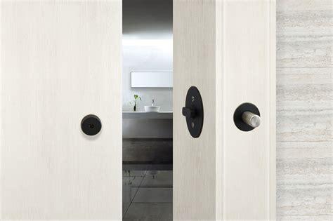 barn door look inox debuts exclusive barn door lock that secures the door