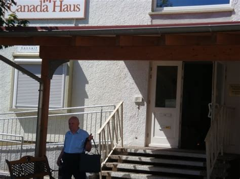 haus lahr a schnitzel and a glass of wine canada haus and the