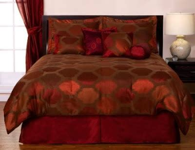 red and orange comforter sets red orange jacquard comforter set bedroom decorating ideas