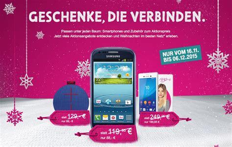telekom aktion geschenke die verbinden rabatt auf