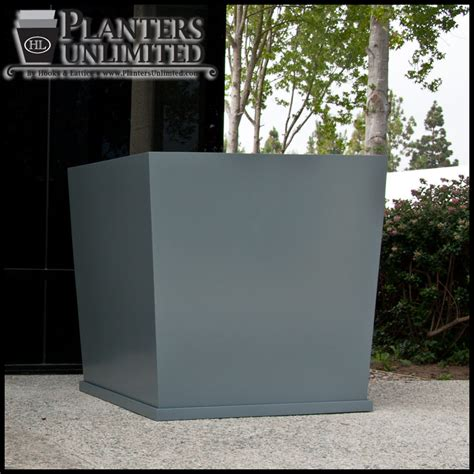 Fiberglass Planters by Large Commercial Fiberglass Planters Planters Unlimited