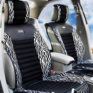 Zebra Seat Covers For Car High Quality Classic Zebra Print Silver Car Seat Cover