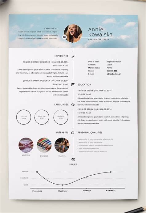 Illustrator Resume by 7 Free Editable Minimalist Resume Cv In Adobe Illustrator