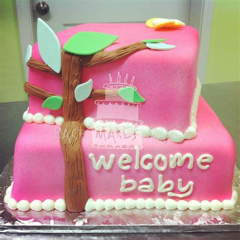 Girly Baby Shower Cakes by Girly Baby Shower Cake