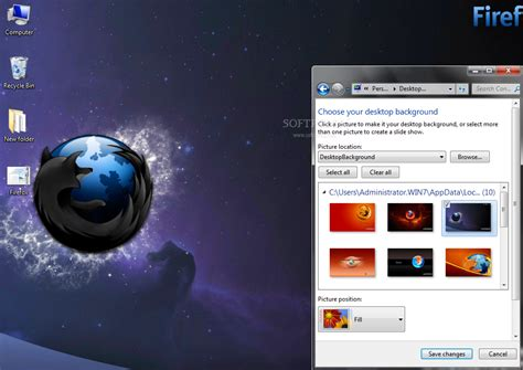 mozilla themes for windows 7 firefox windows 7 theme download